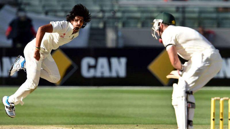 Ishant Sharma in full flow