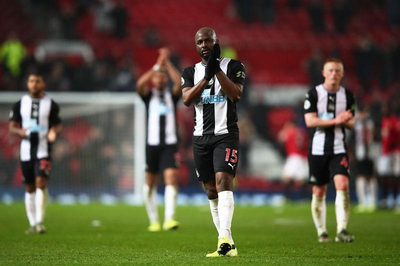 Jetro Willems in action for Newcastle United