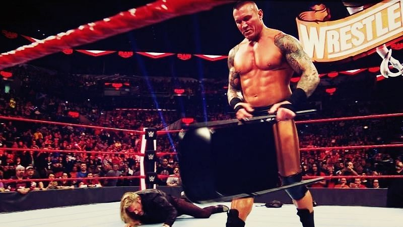 Orton is on a violent streak