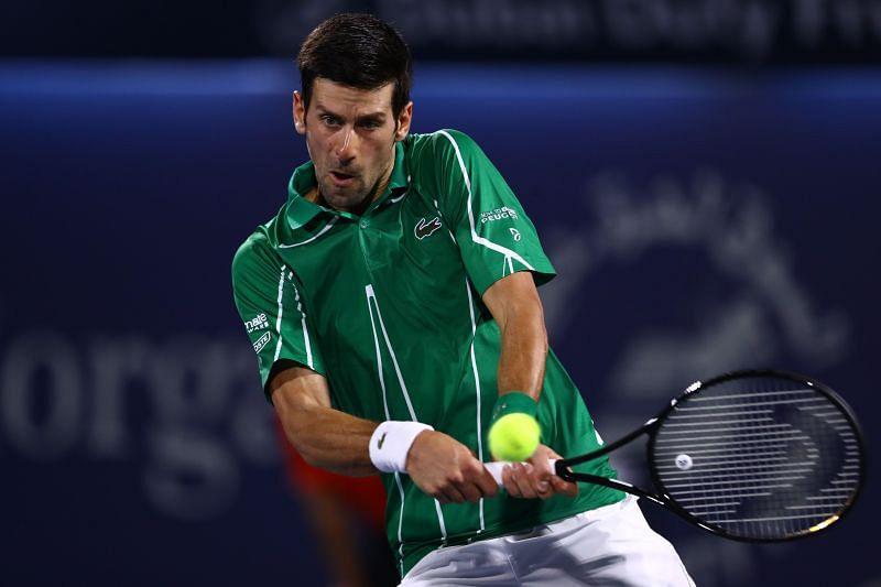 Novak Djokovic is the king of hard courts