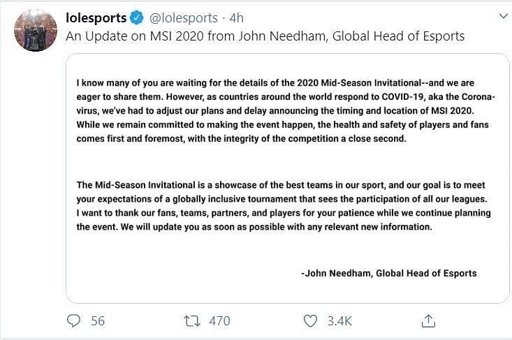 Needham talks about Riot