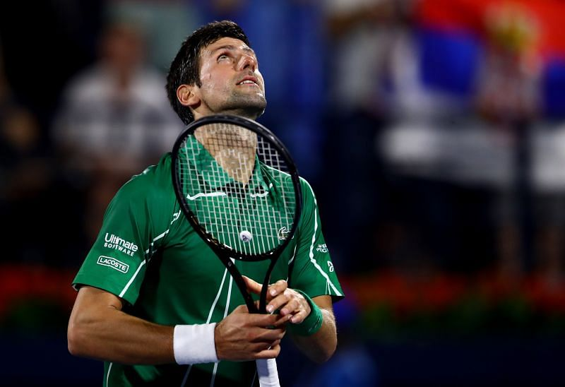 Novak Djokovic is yet to lose a match in 2020