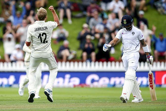 New Zealand debutant scaps the Indian skipper
