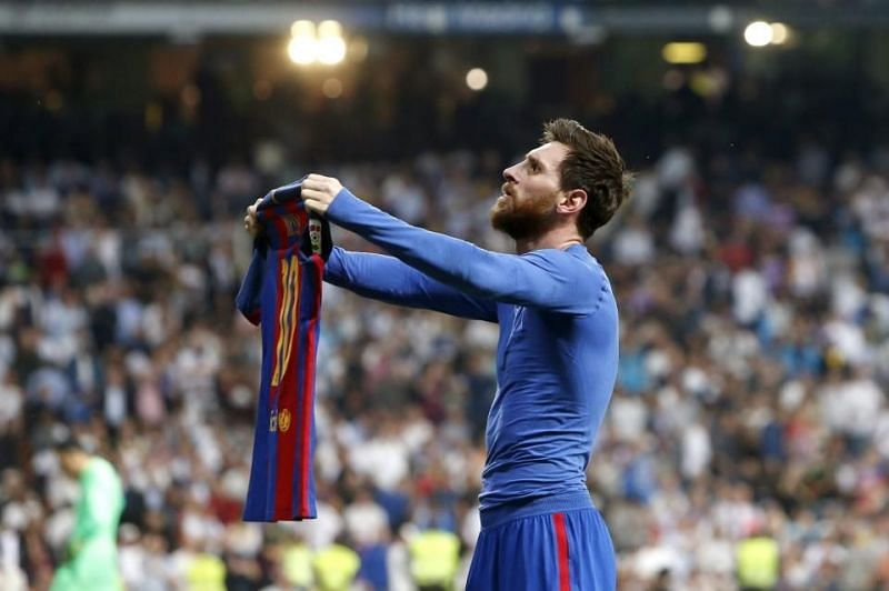 Messi has maintained a remarkable record at the Santiago Bernabéu