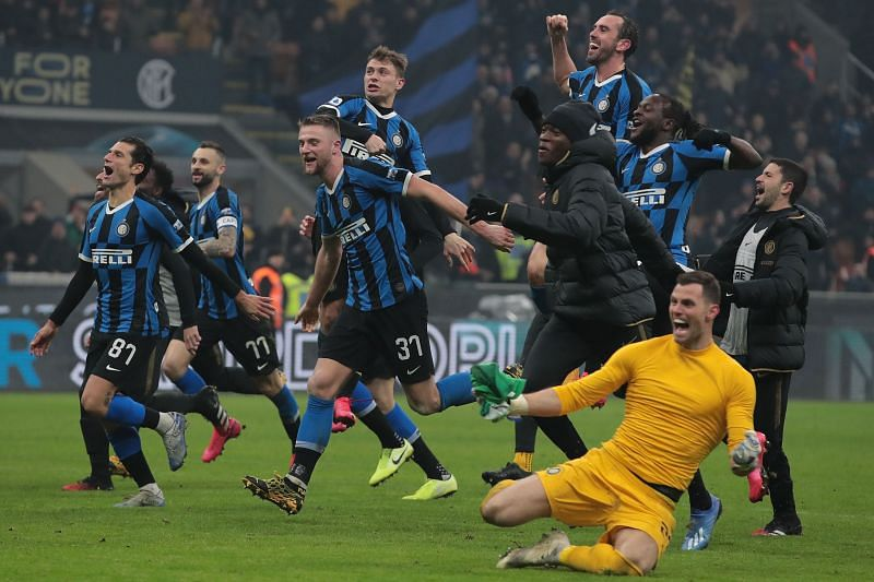 Inter Milan will go head-to-head with Napoli in the Italian Cup semi-final first leg on Wednesday