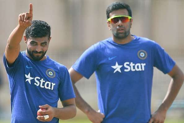 Ravindra Jadeja (left) and Ravichandran Ashwin (right) have been the pillars of Indian spin bowling