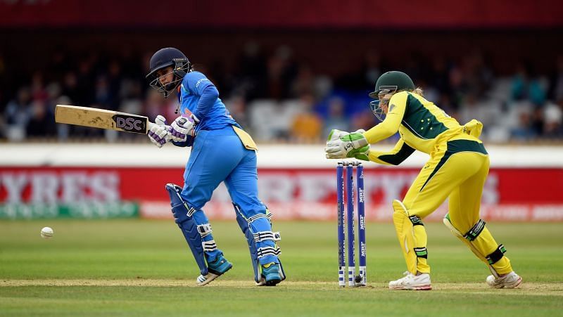 Mithali Raj at the ICC Women