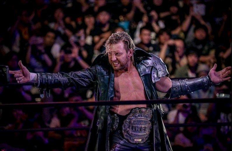 Kenny Omega as the IWGP Heavyweight Champion