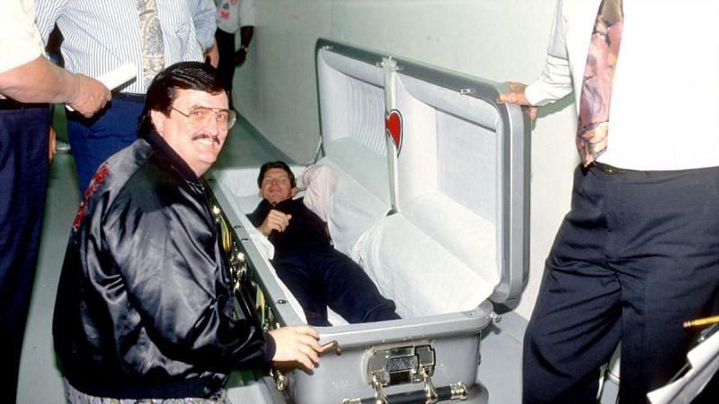 Vince McMahon takes a surprising nap...