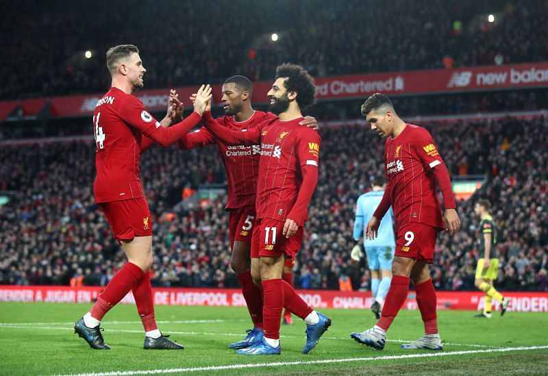 Liverpool have crushed all before them during the current campaign