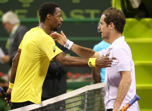 Monfils (left) will face Gasquet for the 18th time