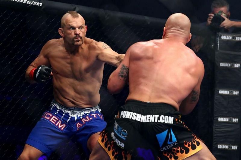 Chuck Liddell made an ill-advised comeback to fight old rival Tito Ortiz in 2018