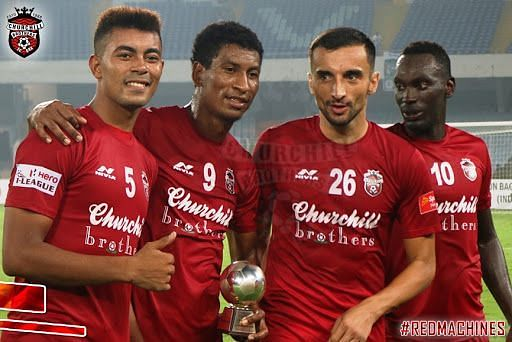 Churchill Brothers could be about to join the ISL