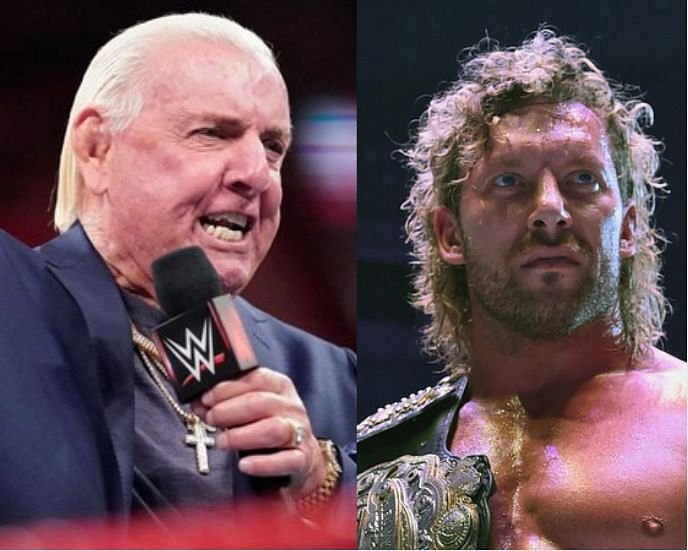 Ric Flair (left) is one of the legends of the business