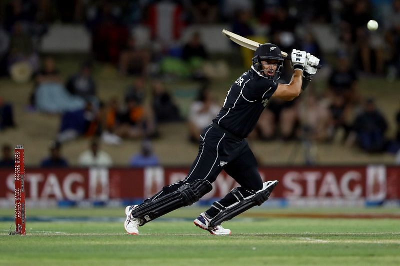 Ross Taylor won the Man of the Series award