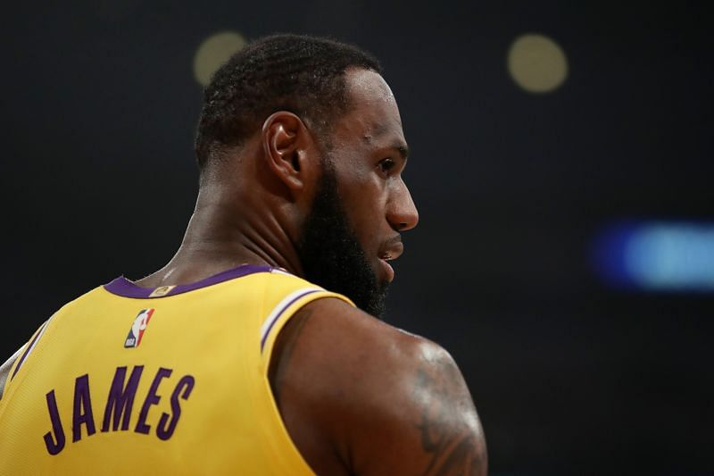 LeBron James dropped 40 points against the New Orleans Pelicans