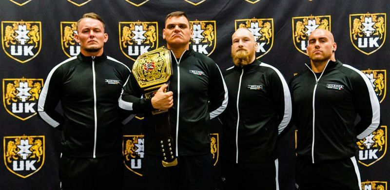Imperium represent three different nationalities in NXT UK