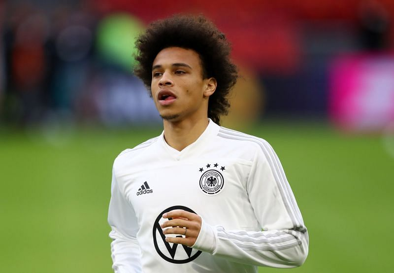 Leroy Sane has long been linked with a move to Bayern Munich