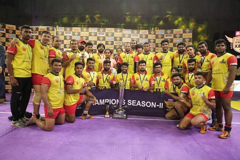 Warangal Warriors emerged as champions in the second season of TPKL.