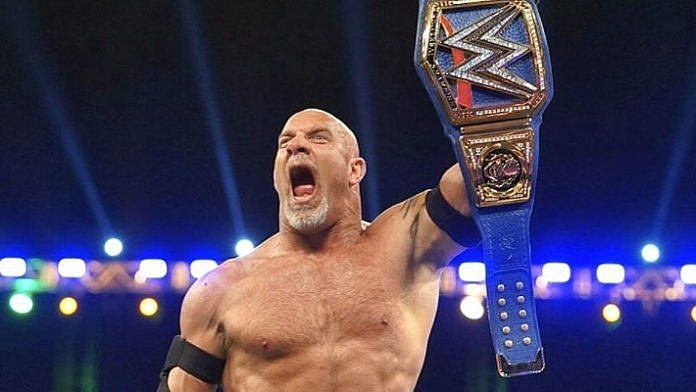 Goldberg is your new and two time Universal Champion