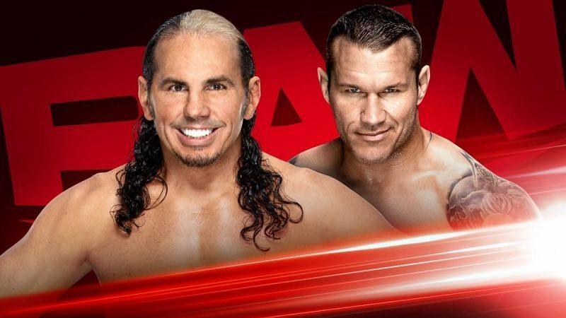 Matt Hardy will face Randy Orton in a