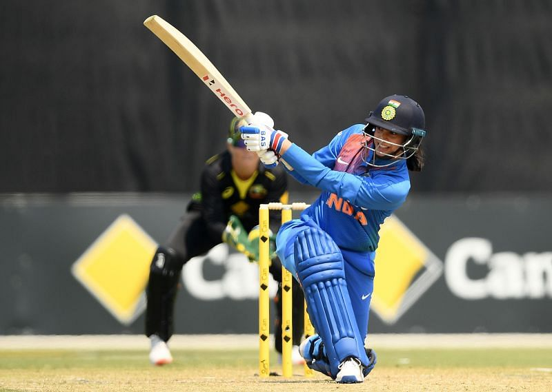 Smriti Mandhana played a patient knock of 55 and helped India chase down a huge target of 174 easily.