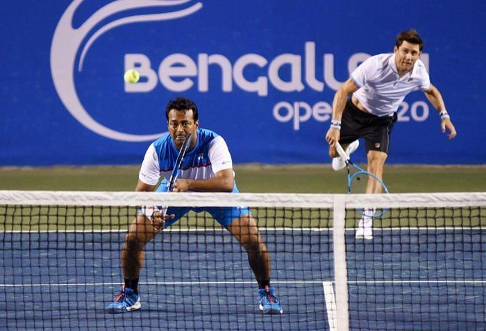 Leander Paes and Mathew Ebden