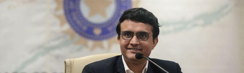 BCCI President and ex-Indian Test skipper Sourav Ganguly