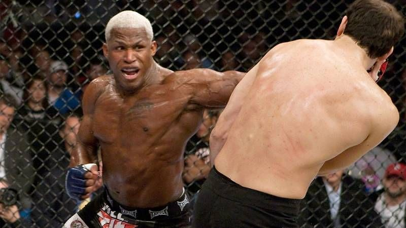 Kevin Randleman defended the UFC Heavyweight belt in the main event