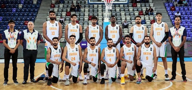 India at the FIBA Asia Cup 2021 Qualifiers [All images used within this article are credited to FIBA.com]