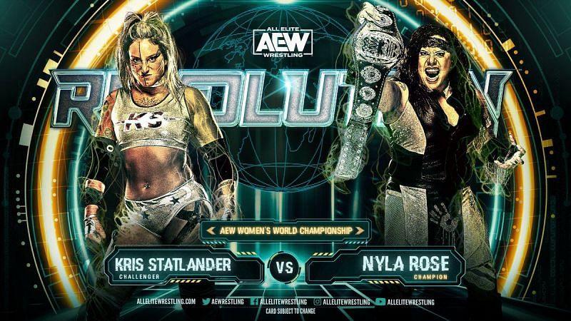 Nyla Rose vs Kris Statlander