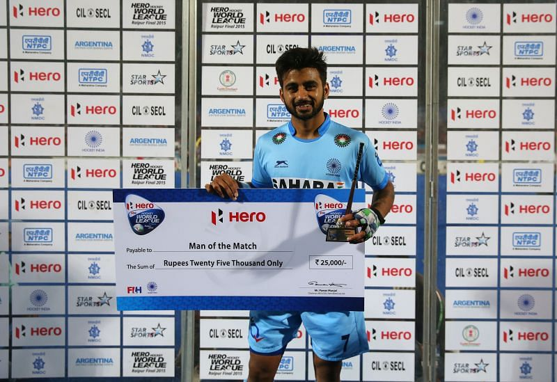 Manpreet Singh: Awarded the best player of the world award
