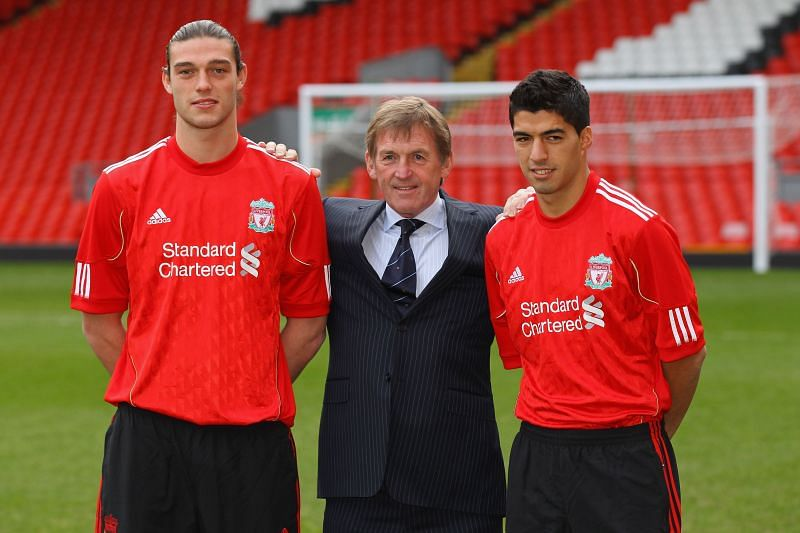 Luis Suarez (right) was a game changer for Liverpool