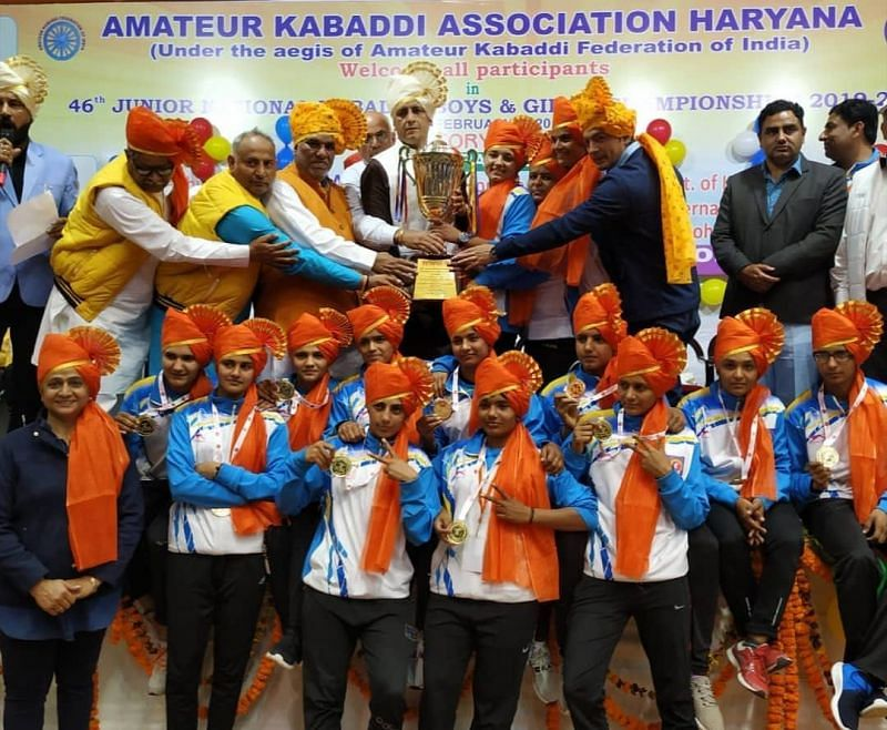 Haryana defeated the pre-favourites SAI in the summit clash to win the trophy.