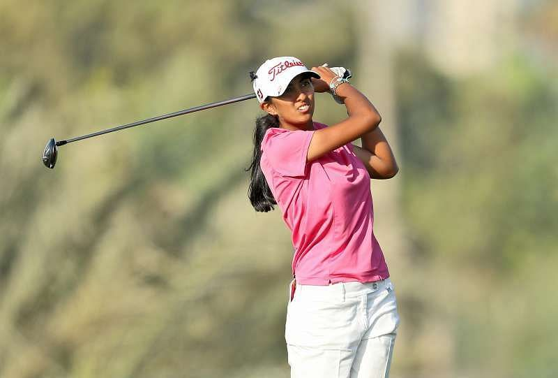 Aditi Ashok looking forward to qualify for the Tokyo Olympics
