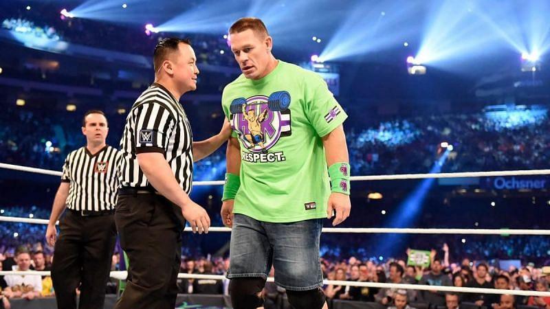 John Cena at WrestleMania 34