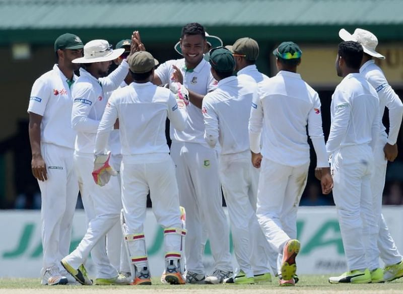 बांग्लादेश की टीम