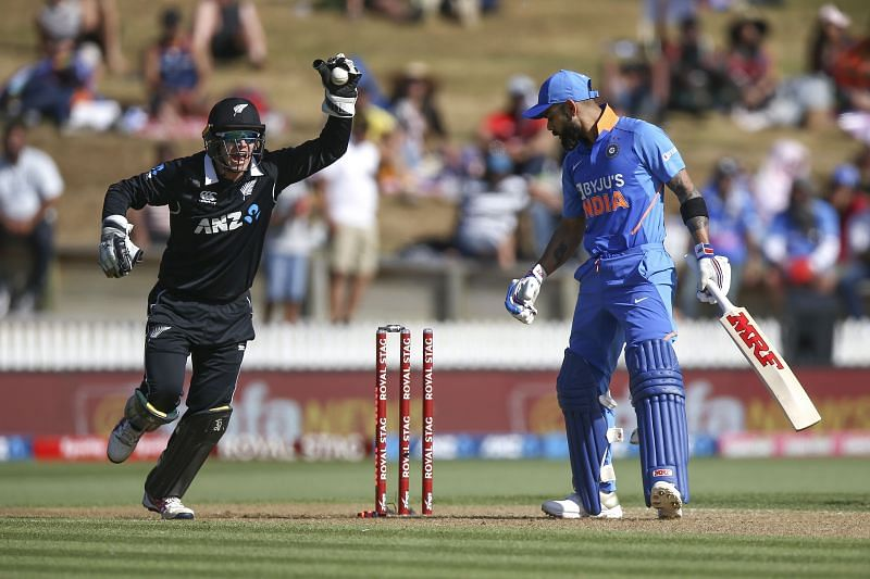 New Zealand v India - ODI: Game 1
