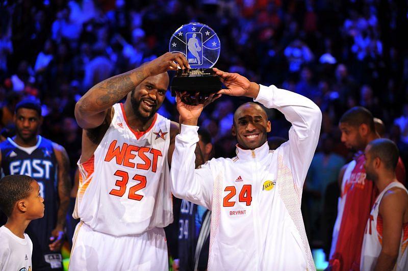 Shaq and Kobe shared the MVP honors in 2009
