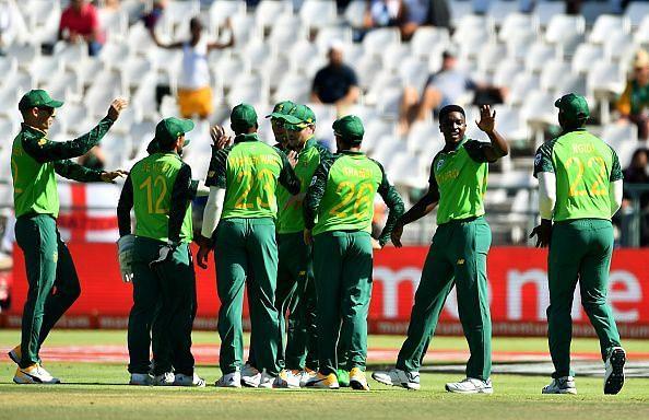 दक्षिण अफ्रीका वनडे टीम