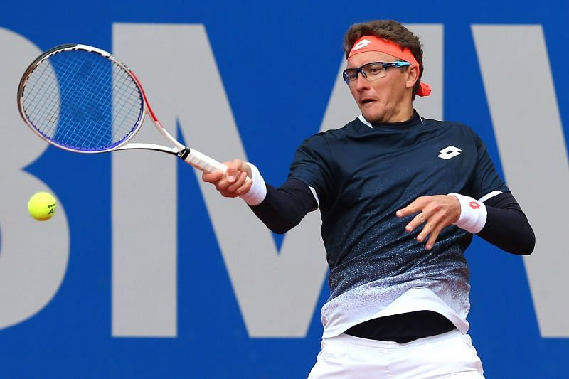 Denis Istomin has been playing on the Challenger circuit to get his ranking back up.