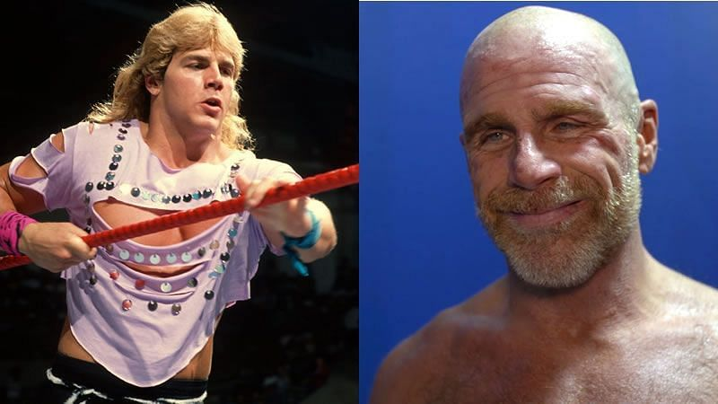 Shawn Michaels - Quite the contrast