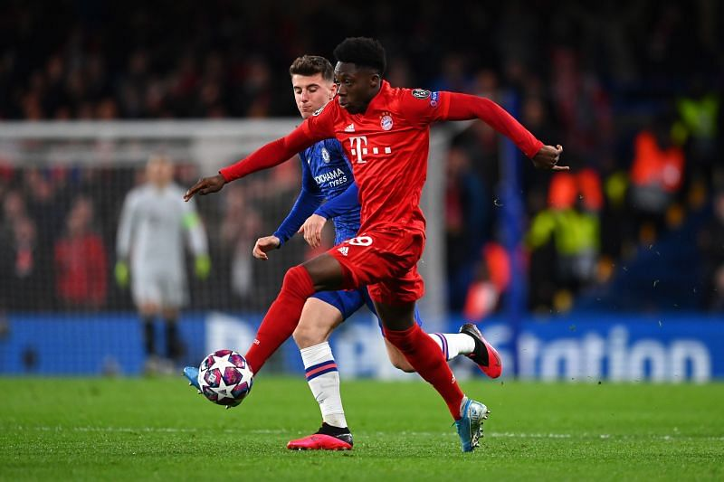 The Canadian teenager was the stand-out performer for Bayern against Chelsea