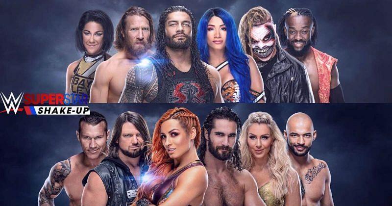 सुपरस्टार शेकअप में रॉ, स्मैकडाउन और NXT तीनों ब्रांड शामिल होंगे