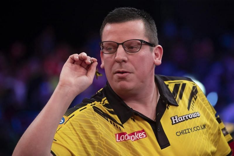 Chisnall suffered a horrific 10-0 loss to Peter Wright in January.