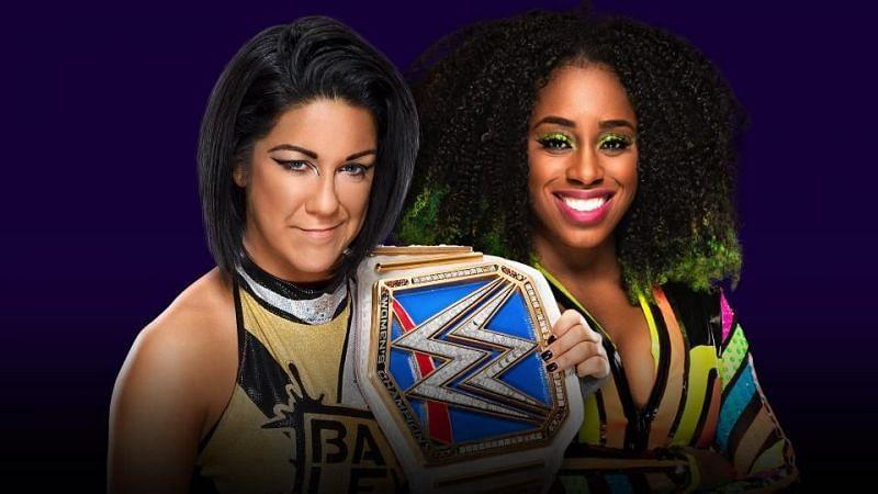 Bayley vs Naomi