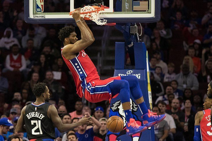Joel Embiid will be looking to have a big game against the Los Angeles Clippers