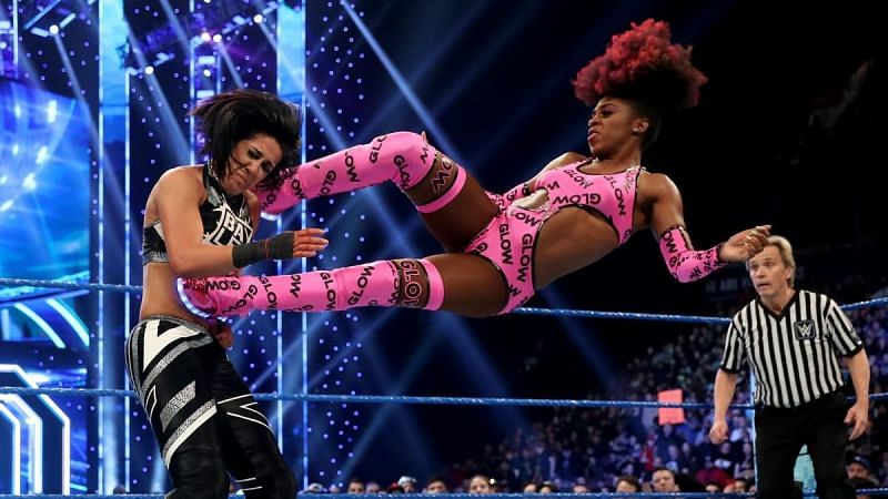 Naomi feels like the right opponent for Bayley