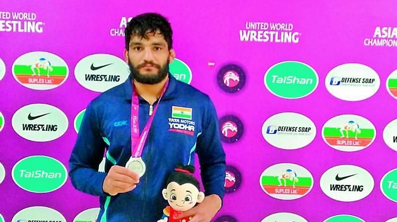 Sunil Kumar clinched gold for India in the Men