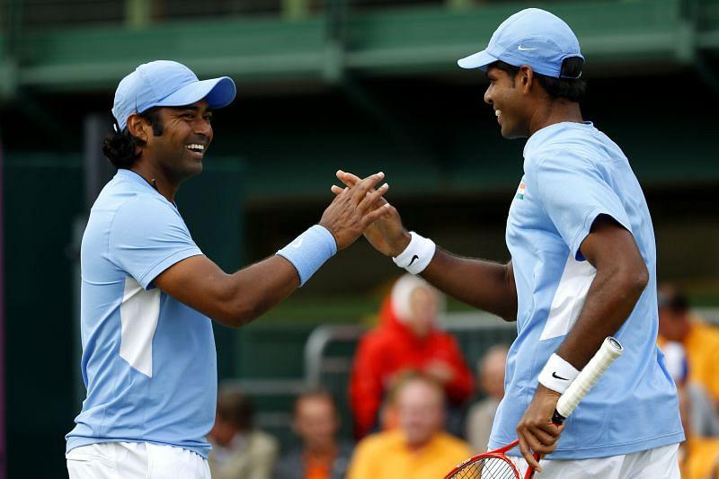 Vishnu Vardhan took part in the 2012 London Olympics with Leander Paes